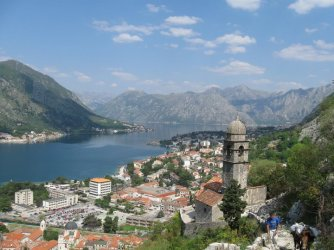 Kotor from up high