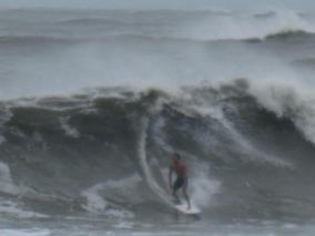 Hurricane swell Irene 2011