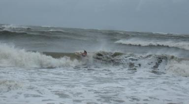 A wipeout during Irene